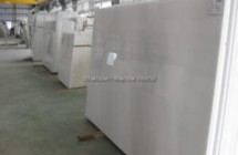 Makrana pure white marble stock yard
