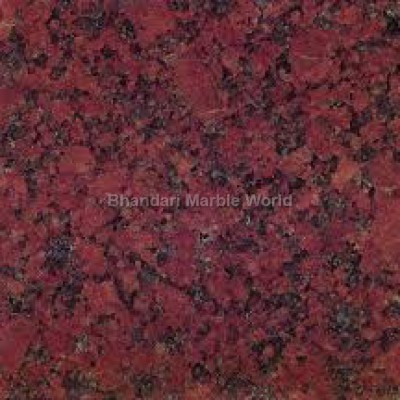 RUB RED marble