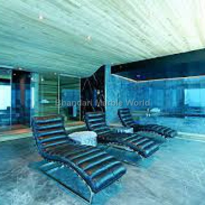 Blue onyx flooring marble