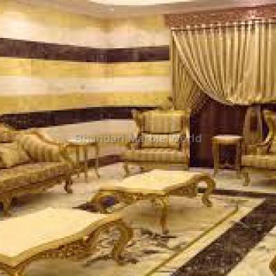 Lobby italian marble