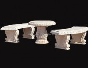 Table Marble Statue