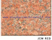 Jem Red Marble