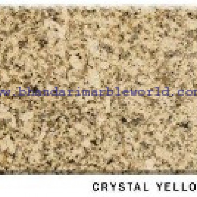 Crystal Yellow Marble