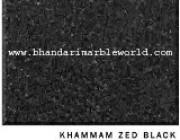 Khammam Zed Black Marble