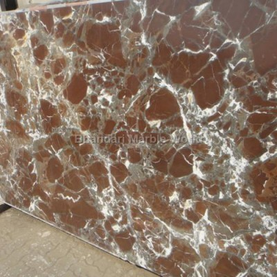 red chigani marble