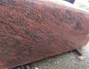 red furfuri marble