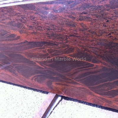 red multi marble