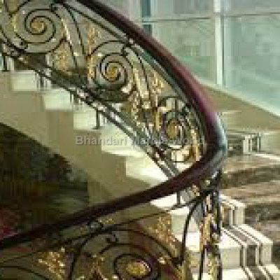 stair case of bidasar marble