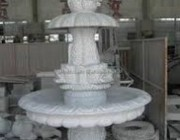 white-marble-fountain