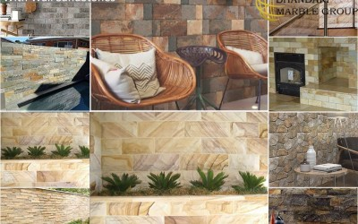 Perfect Wall Elevation With Wall Sandstones