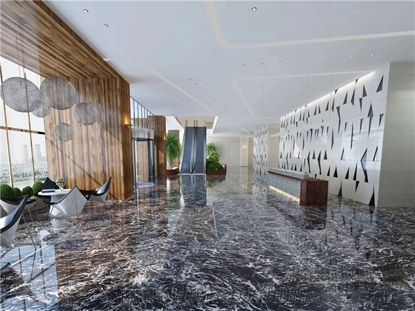 This image has an empty alt attribute; its file name is italian-black-marble-nero-marquina-marble-flooring-p688129-1b.jpg